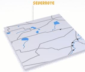 3d view of Severnoye