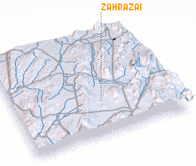 3d view of Zāhrazai