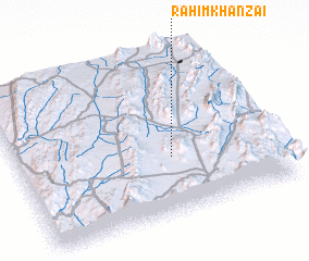 3d view of Rahīm Khānzai