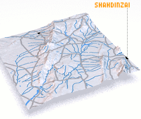 3d view of Shāhdīnzai