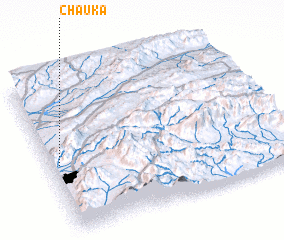 3d view of Chauka