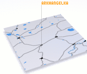 3d view of Arkhangelka