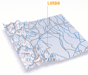 3d view of Lunda