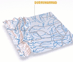 3d view of Dur Muhammad