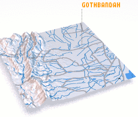 3d view of Goth Bandah