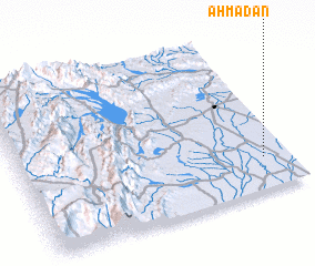 3d view of Ahmadān