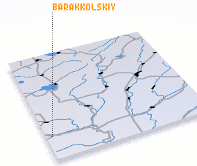 3d view of Barakkol'skiy