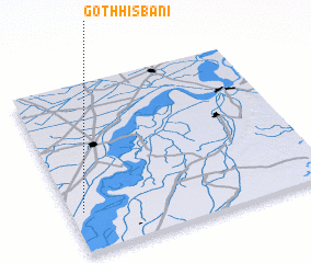 3d view of Goth Hisbāni