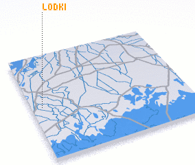 3d view of Lodki