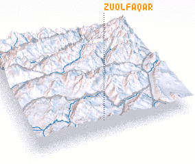3d view of Z̄ū ol Faqār