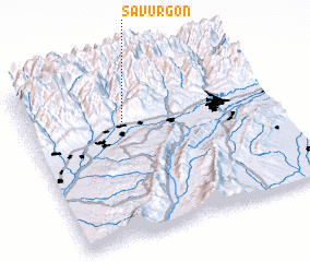 3d view of Savurgon