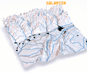 3d view of Galamysh