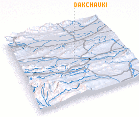 3d view of Dāk Chauki