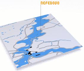 3d view of Nefëdovo