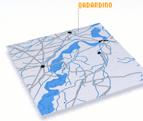 3d view of Qādar Dīno