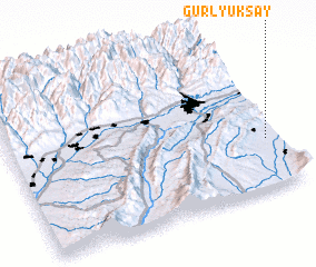 3d view of Gurlyuk-Say