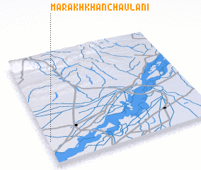 3d view of Marakh Khān Chaulāni