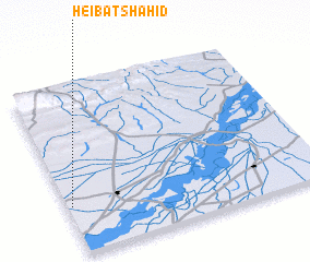 3d view of Heibat Shahid