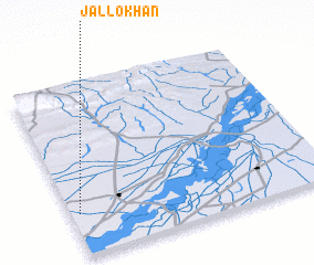 3d view of Jallo Khān