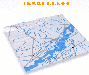 3d view of Hazoor Bakhsh Bijarāni