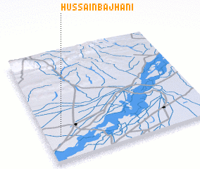 3d view of Hussain Bajhāni