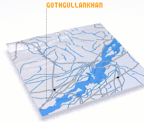 3d view of Goth Gullan Khān