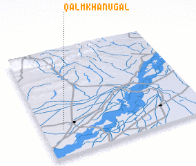 3d view of Qālm Khān Ugāl