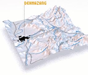 3d view of Deh Mazang