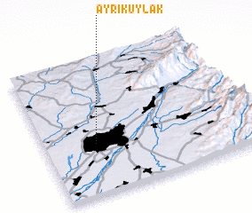 3d view of (( Ayrikuylak ))