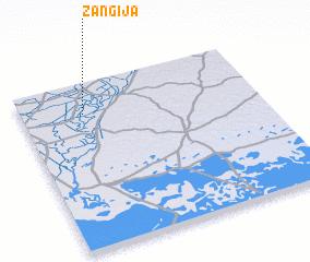 3d view of Zangīja