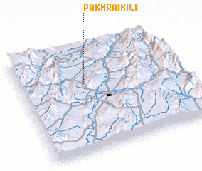 3d view of Pakhrai Kili