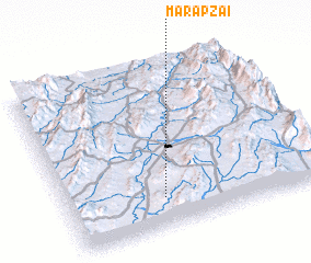 3d view of Mārapzai