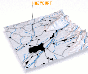 3d view of Kazygurt