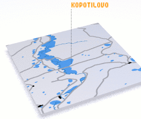 3d view of Kopotilovo