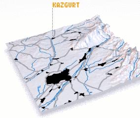 3d view of Kazgurt