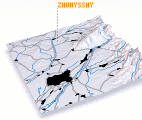 3d view of Zhumysshy