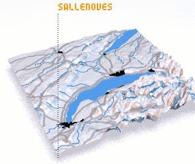 3d view of Sallenôves