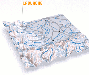 3d view of La Blache