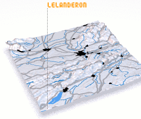 3d view of Le Landeron