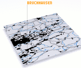 3d view of Bruchhausen