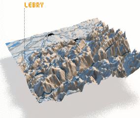 3d view of Le Bry