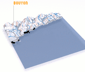 3d view of Bouyon