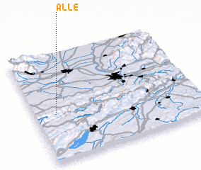 3d view of Alle