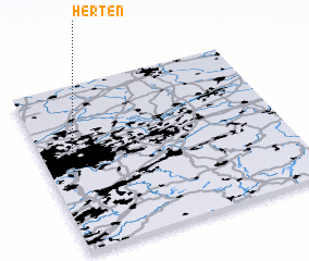 3d view of Herten