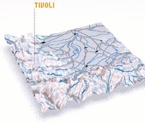 Tivoli Italy map nonanet