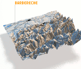 3d view of Barberêche