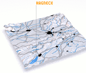 3d view of Hagneck