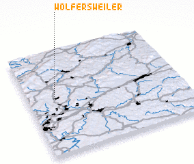 3d view of Wolfersweiler