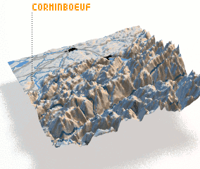 3d view of Corminboeuf