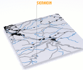 3d view of Senheim
